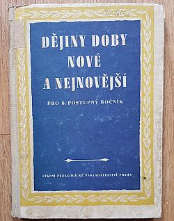 Dějiny doby nové a nejnovější obálka knihy