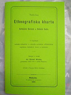 Nadrobna Ethnografiska Kharta Serbskich Hornich a Delnich Łužic