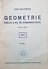 Geometrie  pro VII.  a VIII. třídy středních škol