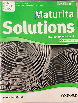 Maturita Solutions 2nd edition Elementary Workbook with audio CD