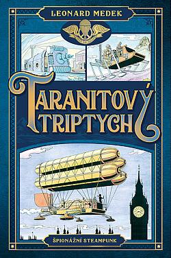 Taranitový triptych obálka knihy