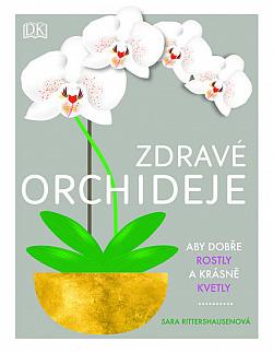 Zdravé orchideje obálka knihy