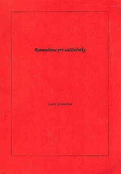 Rumunština pro začátečníky obálka knihy