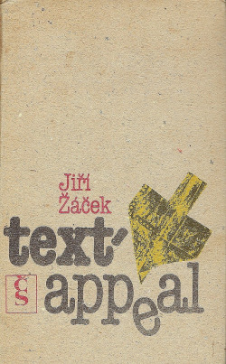 Text-appeal obálka knihy