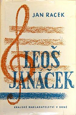 Leoš Janáček: člověk a umělec obálka knihy