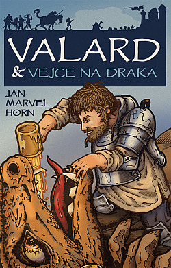 Valard & vejce na draka obálka knihy