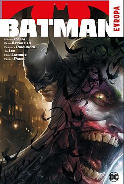 Batman: Evropa obálka knihy