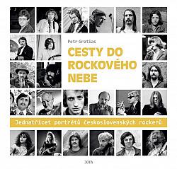 Cesty do rockového nebe obálka knihy