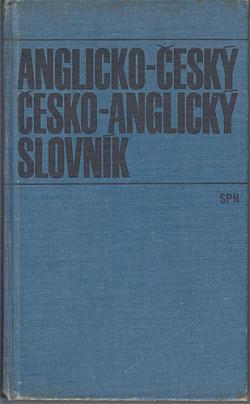 Anglicko-český a česko-anglický slovník obálka knihy