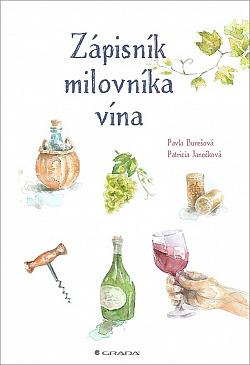 Zápisník milovníka vína obálka knihy