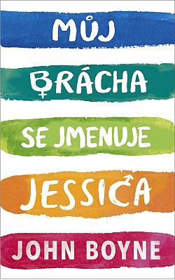Můj brácha se jmenuje Jessica obálka knihy