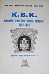 K.B.K.: malodráha Králův Dvůr – Beroun – Koněprusy 1897–1962