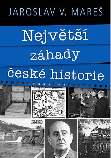 největší záhady české historie kniha