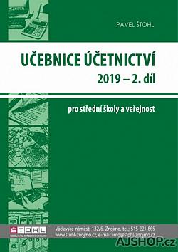 Učebnice účetnictví 2019 - 2. díl