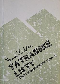 Tatranské listy: Výber z korešpodencie 1920/1921