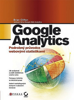 Google Analytics obálka knihy