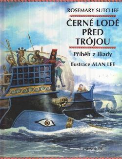 Černé lodě před Trójou obálka knihy