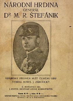 Národní hrdina generál Dr. M. R. Štefánik obálka knihy