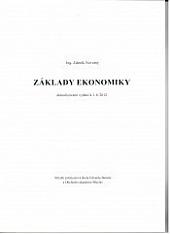 Základy ekonomiky