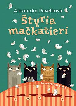 Štyria mačkatieri obálka knihy
