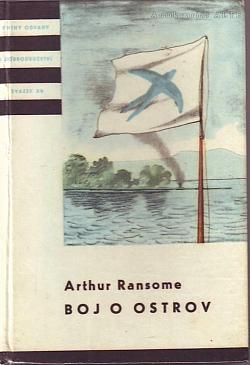 Boj o ostrov obálka knihy