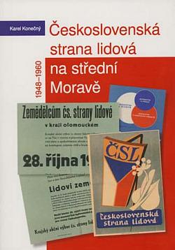 Československá strana lidová na střední Moravě 1948-1960 obálka knihy