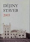 Dějiny staveb 2003