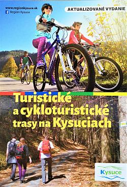 Turistické a cykloturistické trasy na Kysuciach obálka knihy