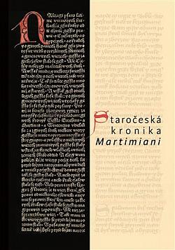 Staročeská kronika Martimiani obálka knihy