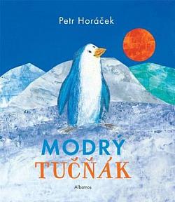 Modrý tučňák obálka knihy