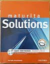 Maturita Solutions Upper-Intermediate - Student