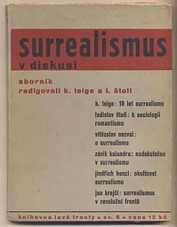 Surrealismus v diskusi obálka knihy
