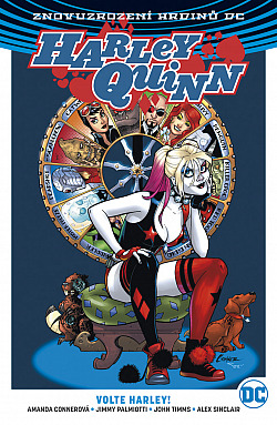Harley Quinn 5: Volte Harley! obálka knihy