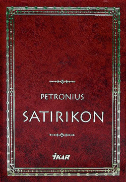 Satirikon obálka knihy
