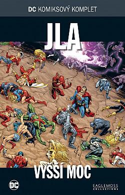 JLA: Vyšší moc obálka knihy