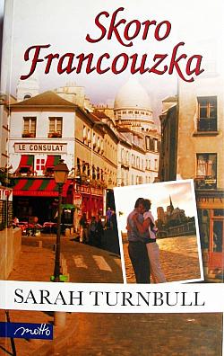 Skoro Francouzka obálka knihy