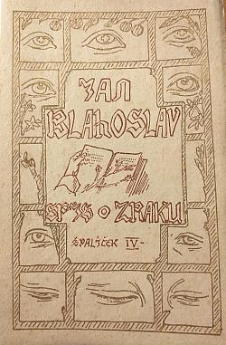 Spis o zraku obálka knihy