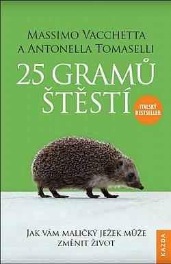 25 gramů štěstí obálka knihy