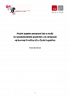 Právní aspekty postavení žen a mužů  ve vysokoškolském prostředí a ve veřejných výzkumných institucích v České republice