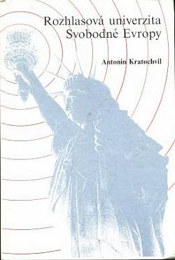 Rozhlasová univerzita Svobodné Evropy I. díl obálka knihy