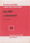 Asie 1985 a náboženství