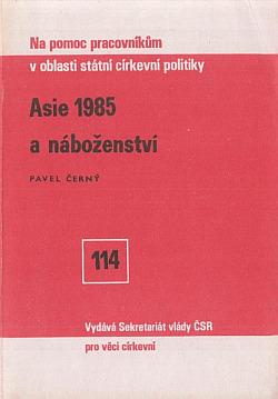 Asie 1985 a náboženství obálka knihy