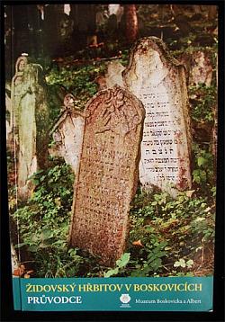 Židovský hřbitov v Boskovicích obálka knihy