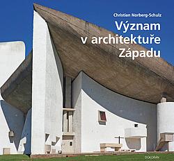Význam v architektuře Západu obálka knihy
