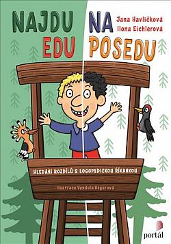 Najdu Edu na posedu obálka knihy