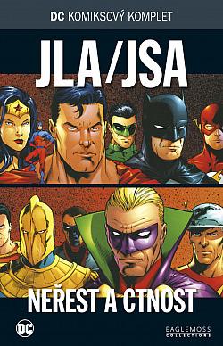JLA/JSA: Neřest a ctnost obálka knihy