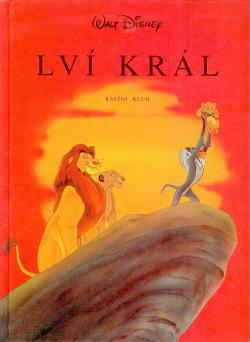 Lví král obálka knihy
