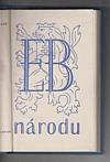 E. B. národu - z projevů presidenta republiky Dr. Edvarda Beneše v letech 1945-46