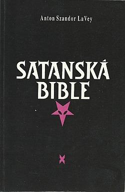 Satanská Bible obálka knihy