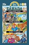 Traja pátrači 88, 89, 90: Záhada otrávenej vody / Záhada tigrej klietky / Záhada mužov v pozadí
